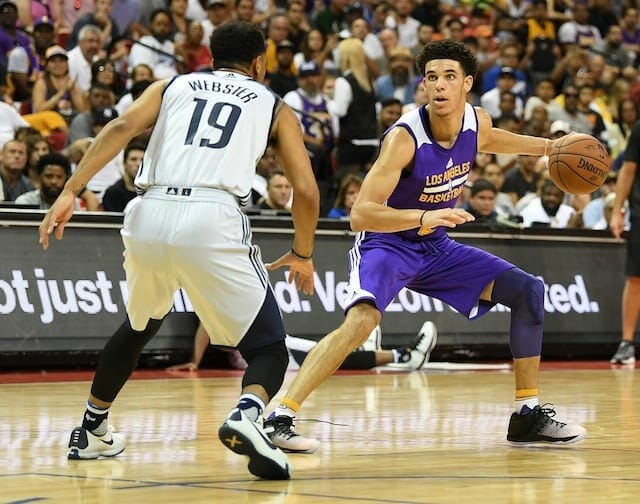 Lakers News: Lonzo Ball Deals With Calf Tightness In Summer League Matchup Against Mavs