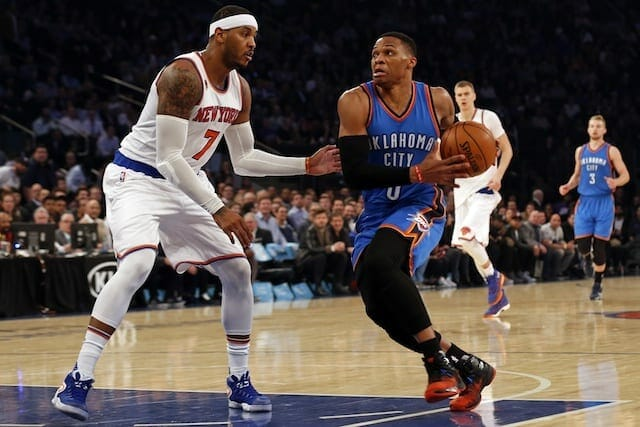 Nba Trade Rumors: Carmelo Anthony, Thunder 'circling Each Other'