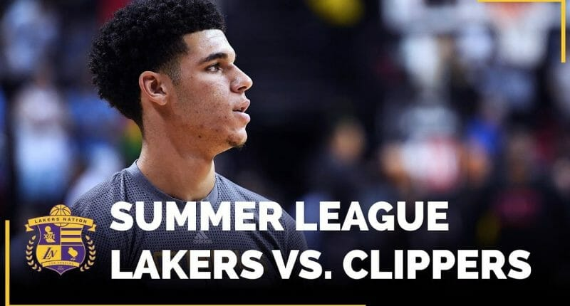 Nba Summer League: Lakers Vs. Clippers (videos)