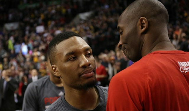 Damian Lillard Tweets About His Admiration For Kobe Bryant