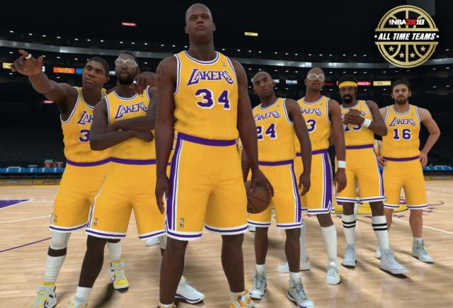 Lakers News: L.a. All-time Nba 2k Roster Revealed