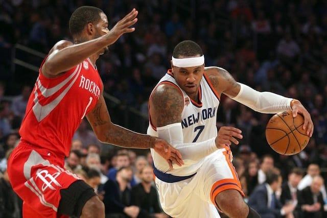 Nba Rumors: Knicks, Rockets 're-engaged' On Trade Talks Involving Carmelo Anthony