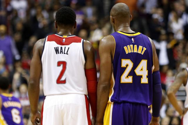 Kobe Bryant Challenges John Wall To Make Nba First Team All-defense