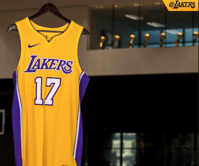 Lakers News: 2017 Nike Jerseys Unveiled