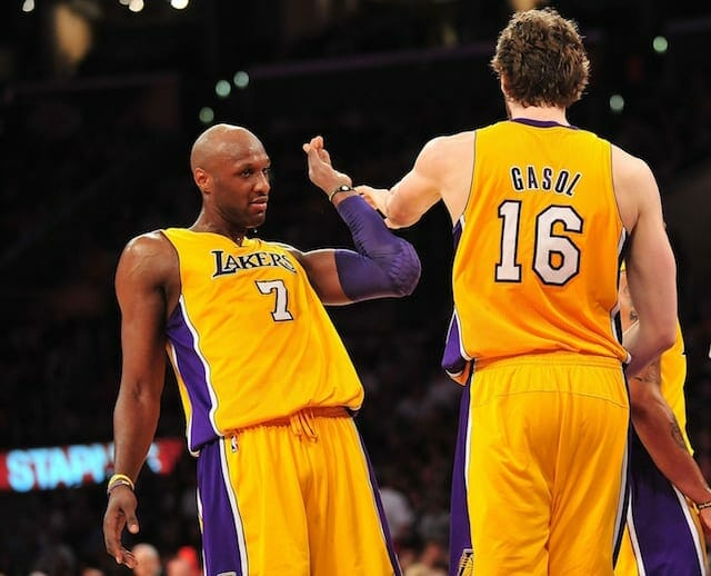 Lakers News: Lamar Odom Compliments Pau Gasol's Style Of Play