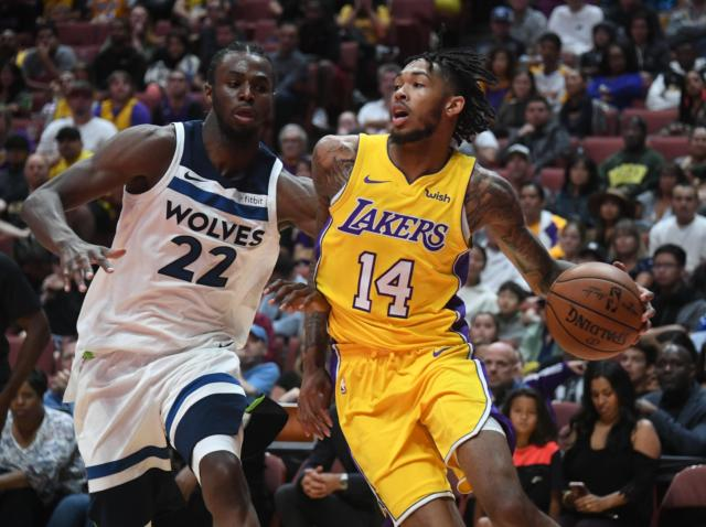 Three Takeaways From Lakers Preseason Opening Loss To Timberwolves
