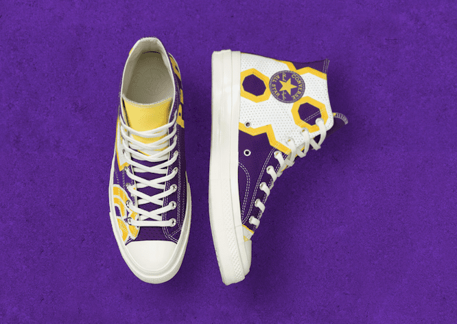 Nba News: Converse Launches Nba Chuck Taylor All-star Collection, Featuring Unique Lakers Edition