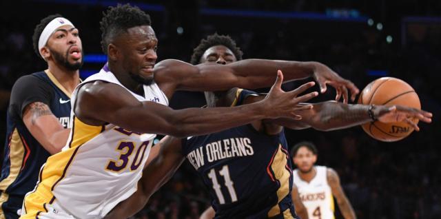 Lakers News: Luke Walton Says Julius Randle Played Best Game This Season