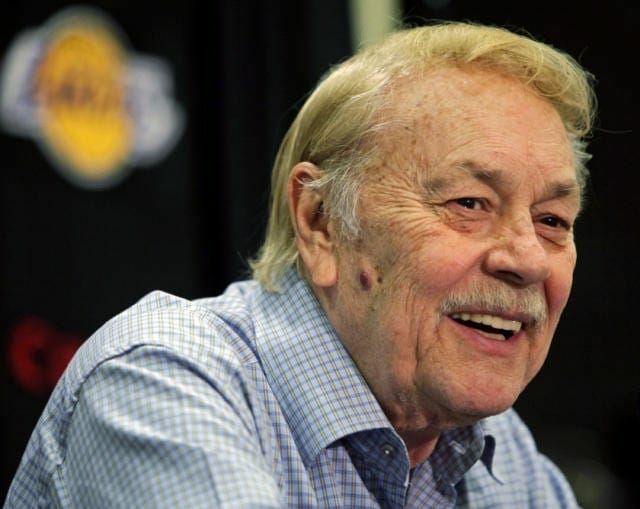 Dr. Jerry Buss, Lakers