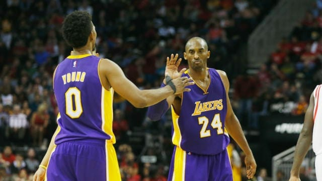 Lakers News: Nick Young Opens Up About Workout With Childhood Idol Kobe Bryant