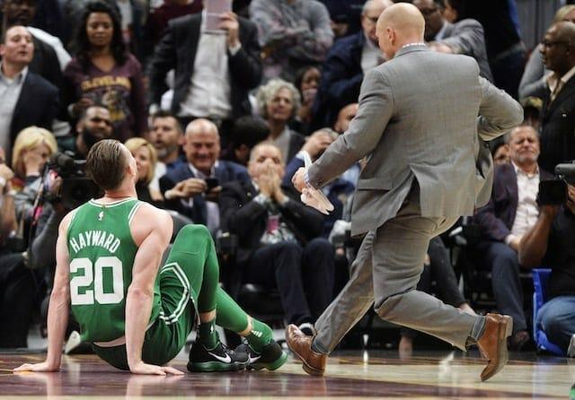Lakers News: Larry Nance Jr., Josh Hart React To Gordon Hayward's Gruesome Injury