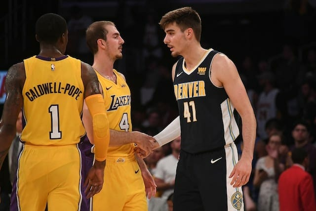 Lakers Preseason Recap: Shorthanded Lakers Blown Out By Nuggets In Ontario