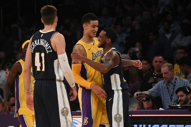 Lakers News: Luke Walton Impressed With Kyle Kuzma's Competitive Spirit