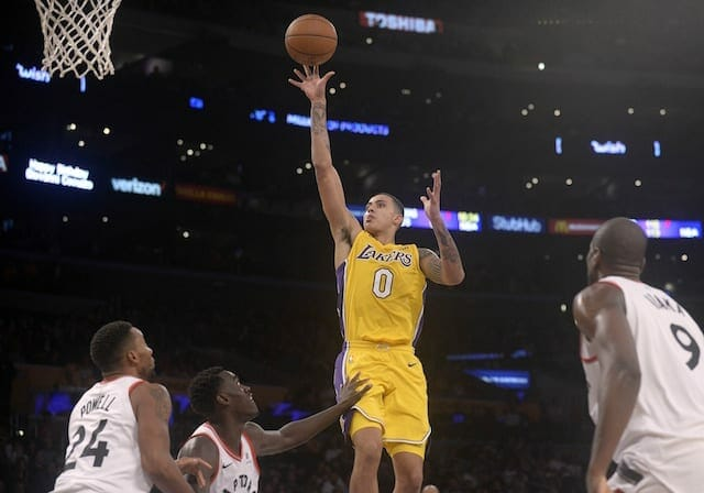 Kyle Kuzma Says Lakers 'are Playing A Little Bit Too Fast'