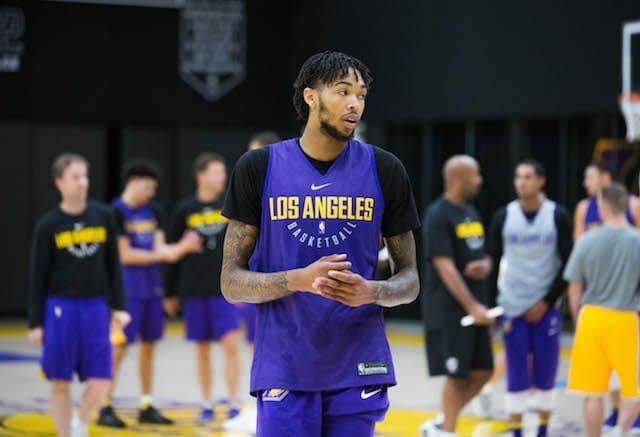 Lakers Practice Notes & Video: Andrew Bogut Impresses, Randle Lineup Questions