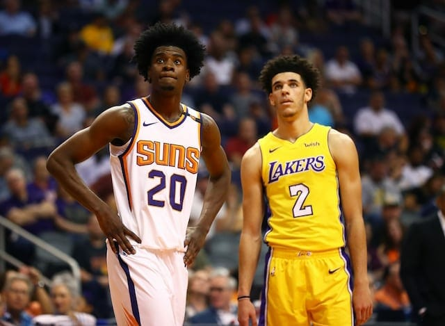 Lakers Vs. Suns Recap: Lonzo Ball, Brandon Ingram Have Career Nights As L.a. Hangs On For 132-130 Victory
