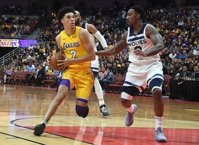 Lakers News: Lonzo Ball Agrees With Luke Walton That He Needs To Be More Aggressive