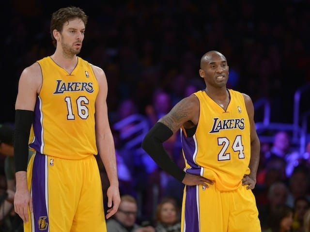 Pau Gasol, Kobe Bryant, Lakers