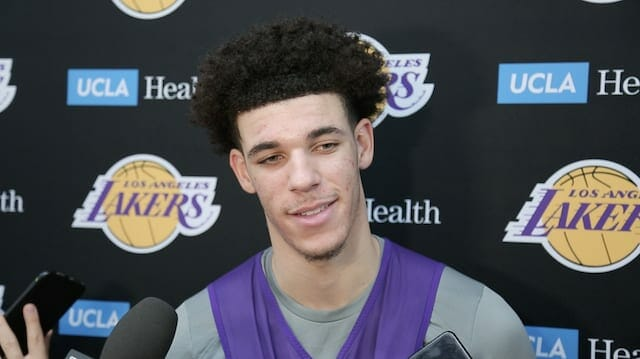 Lakers Practice Notes & Videos: Lonzo Ball Back At Practice