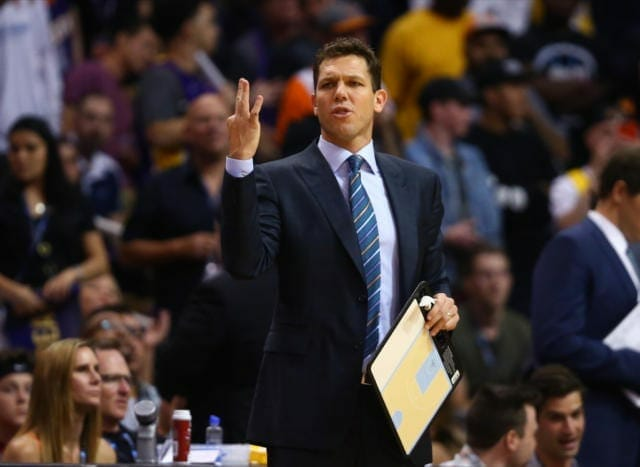 Lakers News: Luke Walton Happy With L.a.'s Ball Security In Fourth Quarter Vs. Suns