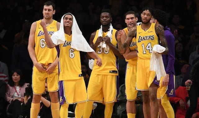 Brook Lopez And Julius Randle Frontcourt Pairing Showing Promise In Limited Minutes For Lakers