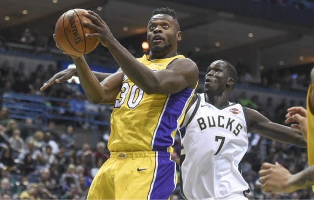 Lakers Podcast: Lonzo Ball's Triple-double & What Julius Randle Could Bring In A Trade