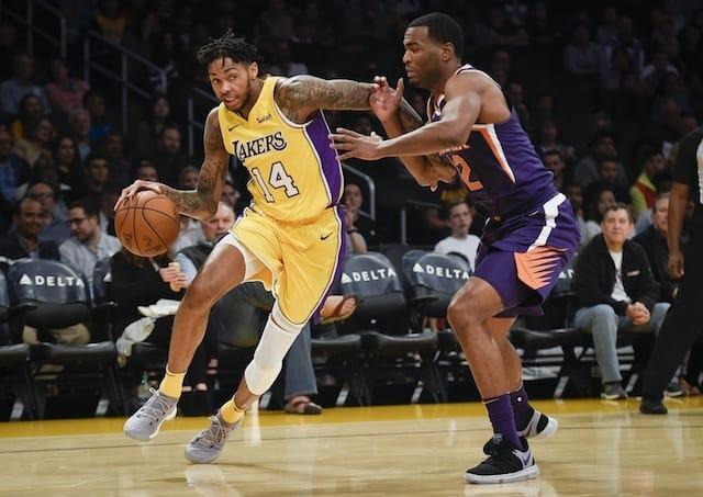 Lakers Recap: Kyle Kuzma's Career-high Falls Short As L.a. Loses 122-113 To Suns