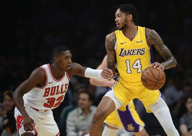 Lakers Recap: Julius Randle, Kentavious Caldwell-pope Lead Comeback Effort In Win Over Bulls