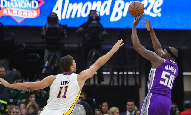 Willie-cauley Stein, Zach Randolph Lead Balanced Kings Attack In Rout Of Lakers