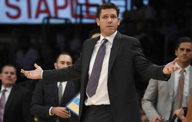 Luke Walton Says Defense Will Continue To Be Lakers' Primary Focus
