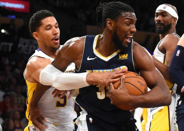 Nuggets Coach Mike Malone Calls The Lakers 'a Good Defensive Team'