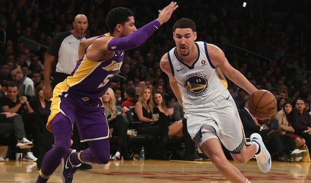Josh Hart, Klay Thompson, Lakers, Warriors