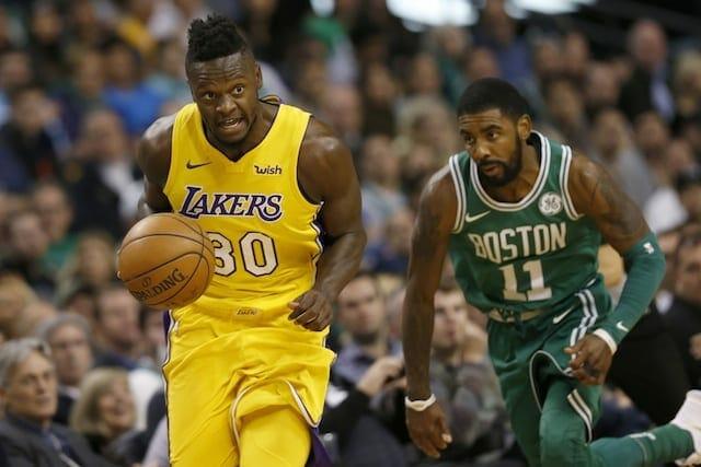 Lakers Recap: Julius Randle, Brandon Ingram Put Up Solid Efforts As L.a. Falls 107-96 To Celtics