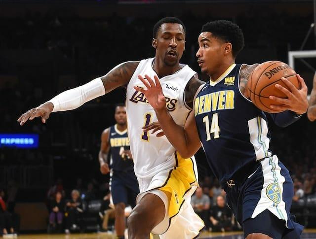 Luke Walton Credits Kentavious Caldwell-pope, Corey Brewer For Lakers Defensive Improvements