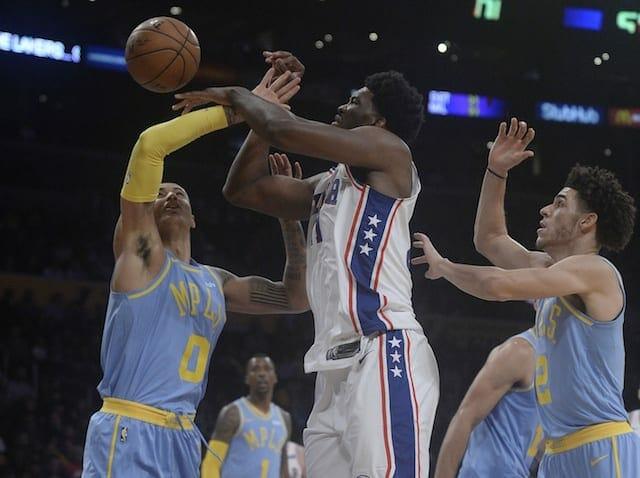 Lakers Highlights: Brandon Ingram, Kyle Kuzma's Career Nights Outshined By Joel Embiid, 76ers