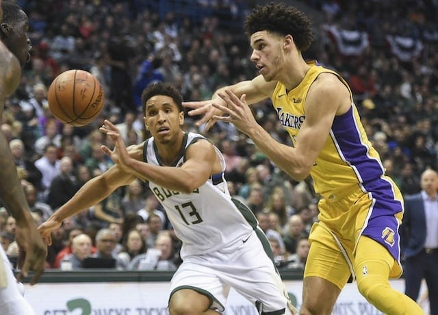 Lakers Recap: Lonzo Ball Becomes Youngest In Nba History To Get Triple-double, But L.a. Falls To Bucks 98-90
