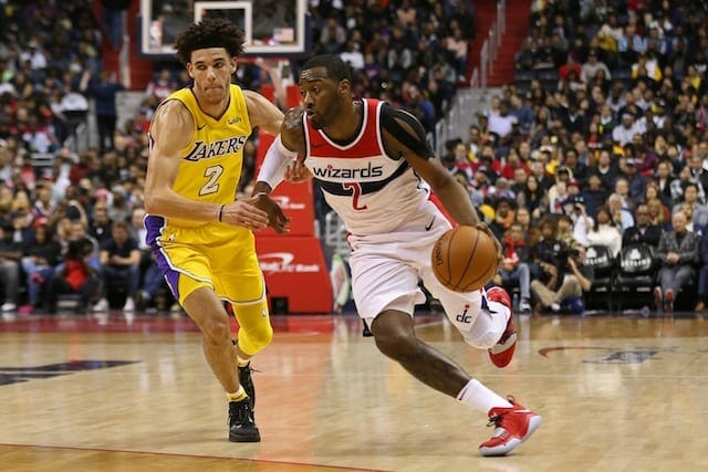 Lakers Recap: Lonzo Ball Falls Short Of Triple-double As L.a. Gets Blown Out By Wizards 111-95