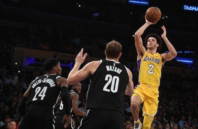 Lakers News: Luke Walton Pleased With Lonzo Ball's Performance Against Nets Despite Poor Shooting