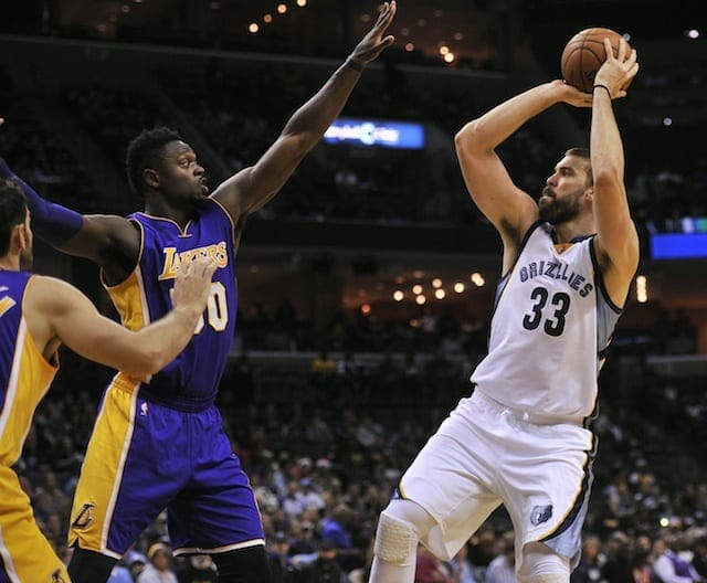 Lakers Vs. Grizzlies Preview: Centers Brook Lopez & Marc Gasol Headline Western Conference Matchup