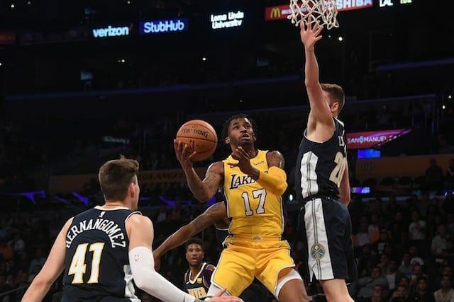 Lakers News: Luke Walton Explains Reasoning For Playing Vander Blue Over Josh Hart