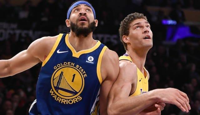 JaVale McGee, Lakers, Warriors