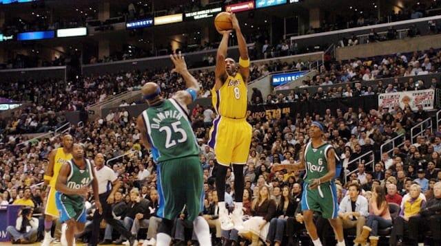 Kobe Bryant, Lakers, Mavericks
