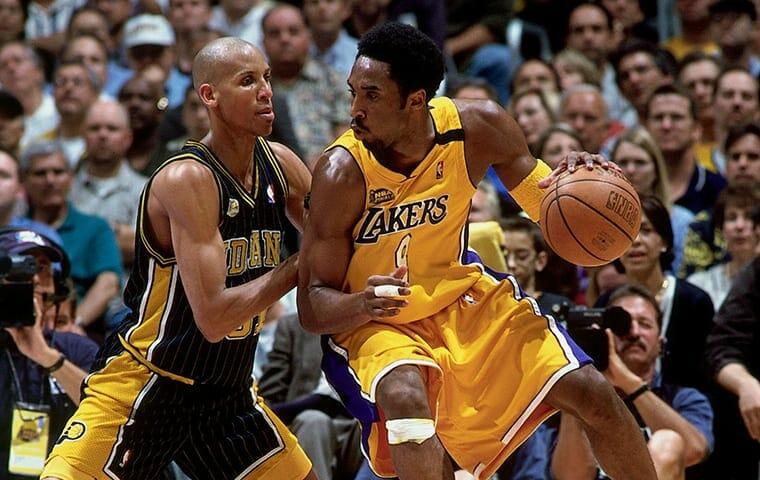 Kobe Bryant, Reggie Miller, Lakers