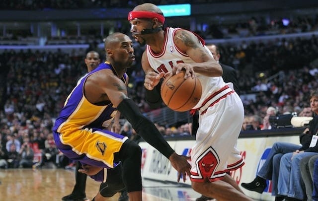 Kobe Bryant, Richard Hamilton, Lakers