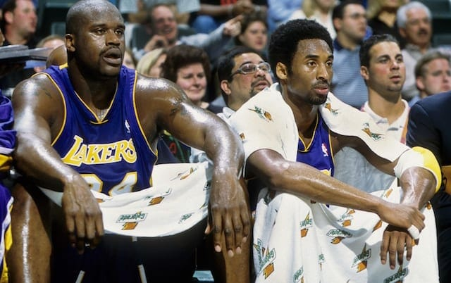 Kobe Bryant, Shaquille O'Neal, Lakers