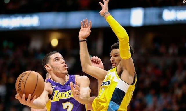 Lonzo Ball, Jamal Murray, Lakers, Nuggets