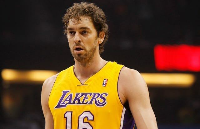 Pau Gasol Says It 'Would Be A Huge Honor' If Lakers Retired His No ...