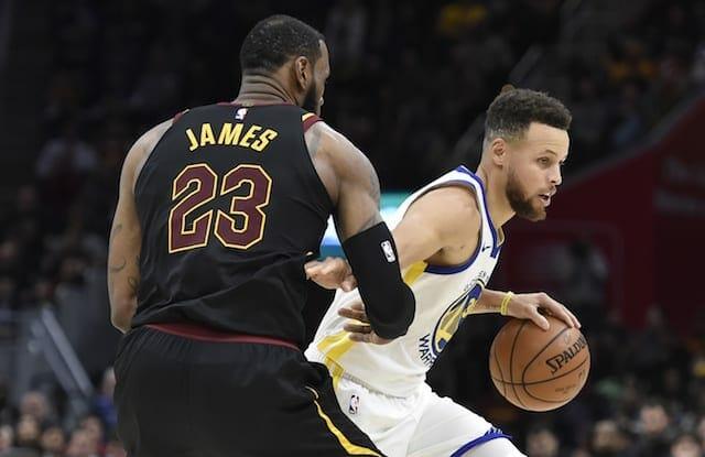 Stephen Curry, LeBron James, NBA