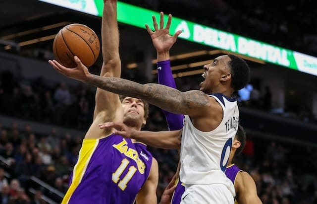 Brook Lopez, Los Angeles Lakers, Minnesota Timberwolves