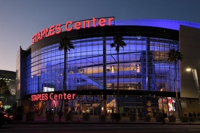 Staples Center, Lakers